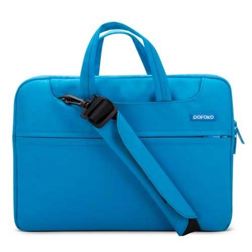 POFOKO bærbar Skulder taske til 12 - Blå