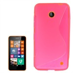 S-Line Silikone Cover - Nokia 630 (pink)