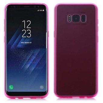 Image of   Glory Cover i silikone til Samsung Galaxy S8 - Rosa rød