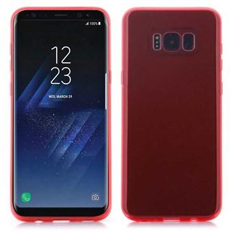 Image of   Glory Cover i silikone til Samsung Galaxy S8 - Rød