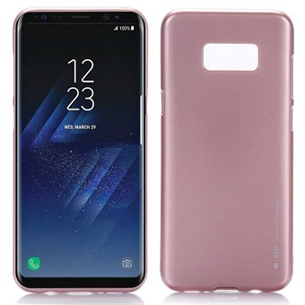 Image of   Goospery I Jelly Cover i TPU til Samsung Galaxy S8 - Rosa Guld