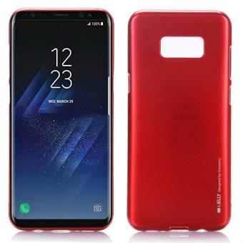 Image of   Goospery I Jelly Cover i TPU til Samsung Galaxy S8 - Rød