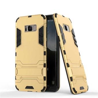 Image of   Space Hardcase i plast og TPU til Samsung Galaxy S8 - Guld
