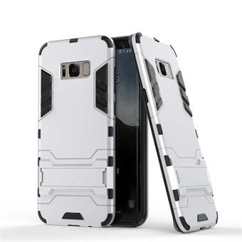 Image of   Space Hardcase i plast og TPU til Samsung Galaxy S8- Sølv