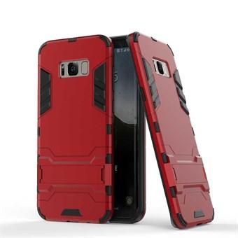 Image of   Space Hardcase i plast og TPU til Samsung Galaxy S8 - Rød