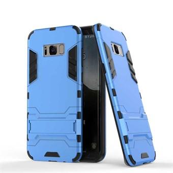 Image of   Space Hardcase i plast og TPU til Samsung Galaxy S8 - Blå