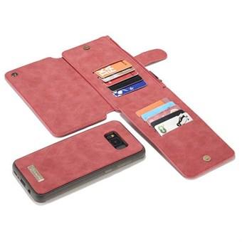 Image of   CaseMe Flip Pung til Samsung Galaxy S8 - Rød