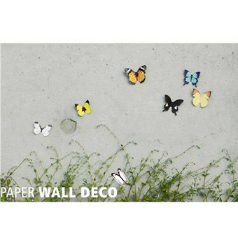 Image of   TipTop Wallstickers 3D Butterfly Design Stereo