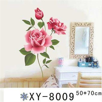 Image of   TipTop Wallstickers Attractived Pink Peony