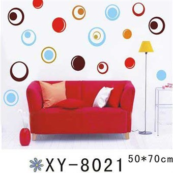 Image of   TipTop Wallstickers Colorized Circles Designs