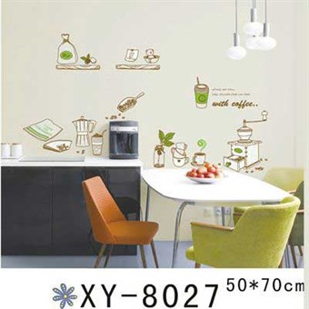 Image of   TipTop Wallstickers Cartoon Tableware Design