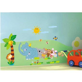 Image of   TipTop Wallstickers Animals Design Decoratio
