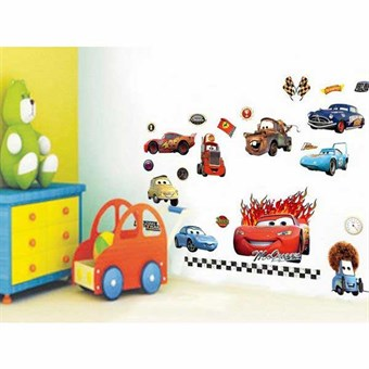 Image of   TipTop Wallstickers Cartoon Cars-PLEX Theme
