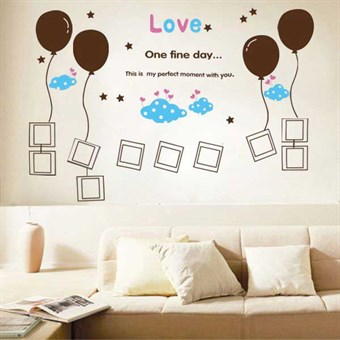 Image of   TipTop Wallstickers Balloon Cartoon Bedroom