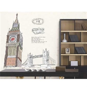 Image of   TipTop Wallstickers Big Ben Design
