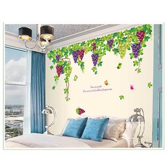 Image of   TipTop Wallstickers 60x90cm Grapevine
