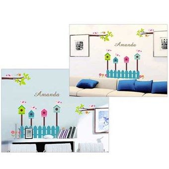 Image of   TipTop Wallstickers Cute Bird Home Print