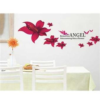 Image of   TipTop Wallstickers 45x60cm AY Angel Flower Print