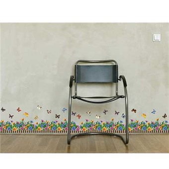Image of   TipTop Wallstickers AY Charming Flowers Butterflies