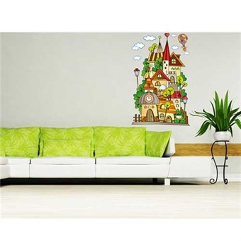 Image of   TipTop Wallstickers AY Lovely Cartoon Castle