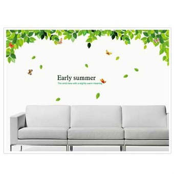 Image of   TipTop Wallstickers AY Early Summer Leaf Print