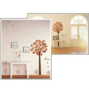 Image of   TipTop Wallstickers 60 x 90 cm Maple Tree Design
