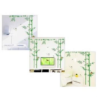 Image of   TipTop Wallstickers Bamboo and Birds Design Wall Decoration