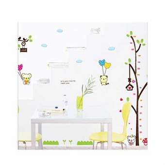 Image of   TipTop Wallstickers Cartoon Tree and Animals Kids