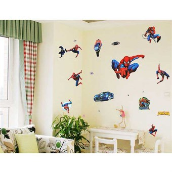 Image of   TipTop Wallstickers Cool Spider-man Pattern