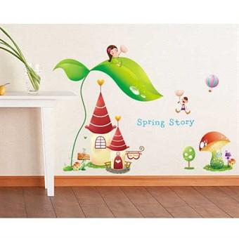 Image of   TipTop Wallstickers Castle Garden KIDS Home Decorations