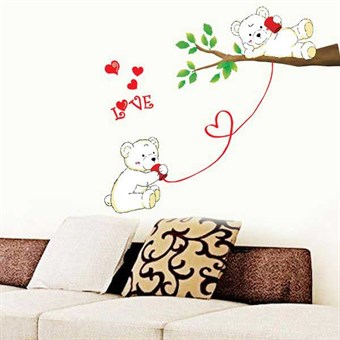 Image of   TipTop Wallstickers (Cute Bear)
