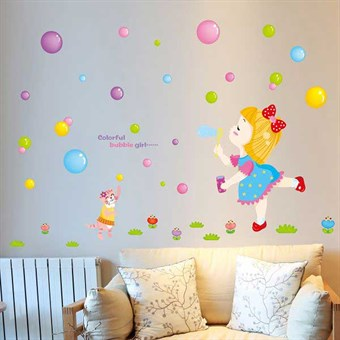 Image of   TipTop Wallstickers Color Bubble Pattern