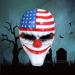 USA scary clown mask