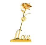Guld Rose Inkl Love Stand