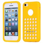 Gummi 2 Cheese Cover  -  iPhone 5C (Gul)