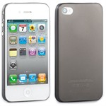 Hoco Ultra Thin Cover - iPhone 4/4S (Sort)