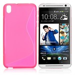 S-Line Silikone Cover Htc desire 800/816 (Pink)