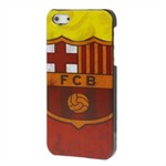 Fodbold Cover iPhone 5 (Barcelona)