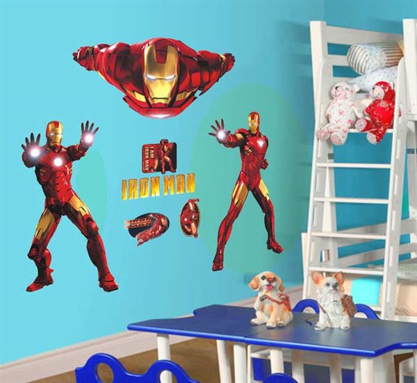 Klistermærke med Iron Man - On-Wall Stickers - Iron Man