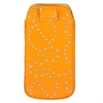 Pull Tab Case - Orange (bling edition)