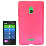 S-Line Silikone Cover - Nokia XL (pink)