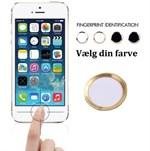 Touch id button Hvid / Guld