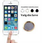 Touch id button Sort / Guld