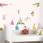 Wall Stickers - Prinsesser of feer