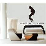 Wall Stickers - Michael Jackson