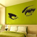 Wall Stickers - Sexy Eyes