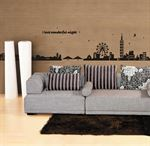 Wall Stickers - Vidunderlig nat