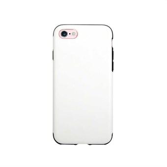 Image of   Imiteret Læder Cover til iPhone 7 / iPhone 8 - Hvid