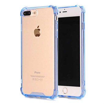 Image of   Acrylic Safety Cover til iPhone 7 Plus / iPhone 8 Plus - Blå