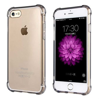 Image of   Protection Silikone Cover til iPhone 7 / iPhone 8 - Grå